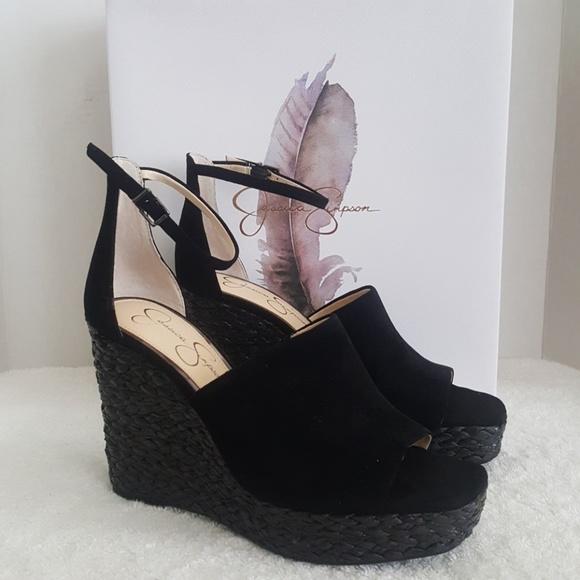 71e8834509f New Jessica Simpson Suella Leather Sandals NWT